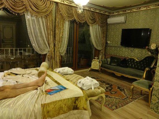 Romantic Hotel Istanbul: Suite