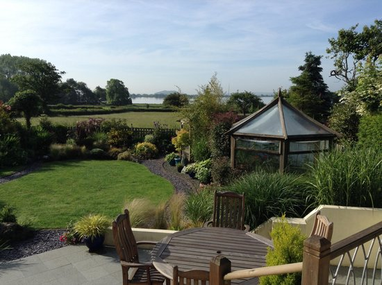 Strawberry Line Bed and Breakfast: View from Garden Suite