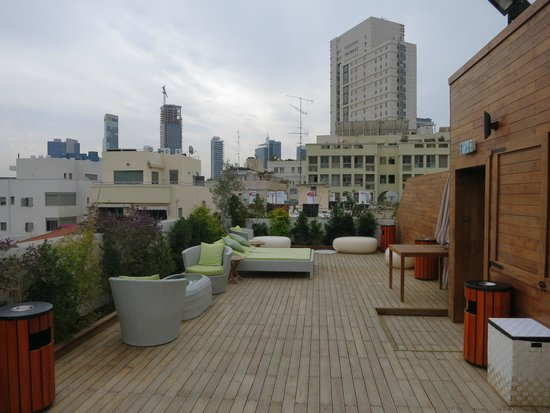 Shenkin Hotel : Терраса на крыше