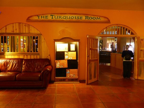 Turquoise Room: eat here