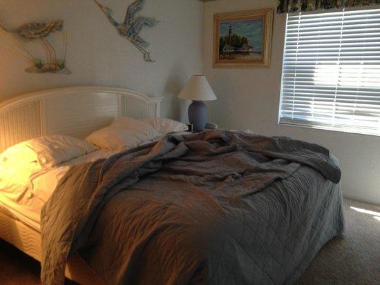 master bedroom at Sanibel Moorings