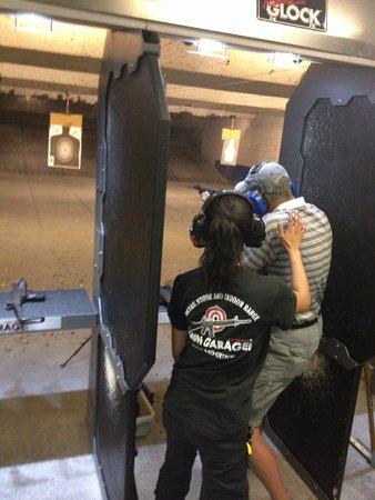 Gun Garage : An extremely helpful and friendly staff.