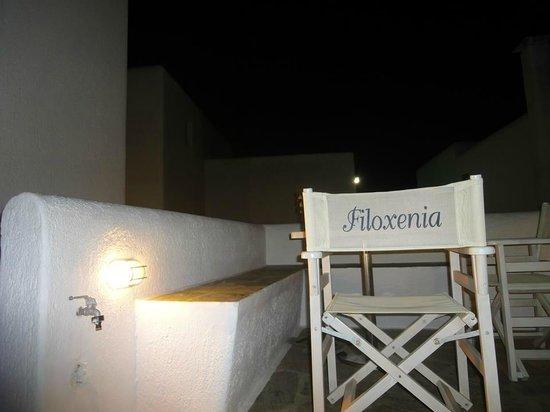 Filoxenia Apartments: terrazzino