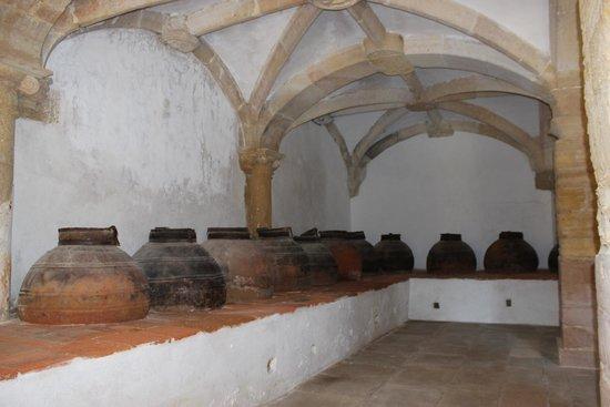 Convento de la Orden de Cristo: sala onde guardavem as talhas de azeite