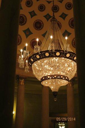 U.S. Capitol : Chandelier