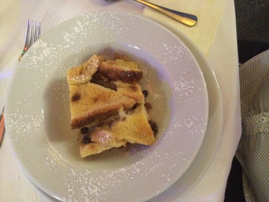 The Waterfront Harwich: Bread and butter pudding