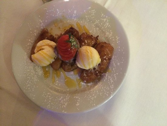 The Waterfront Harwich: Banana fritters