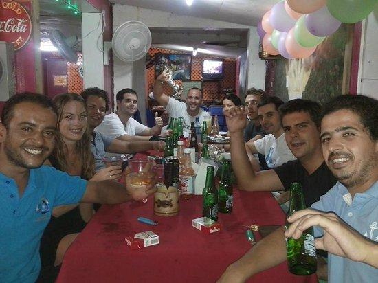 Pupuseria Salvadoreno: despues de la cena..... increible!!!! :)