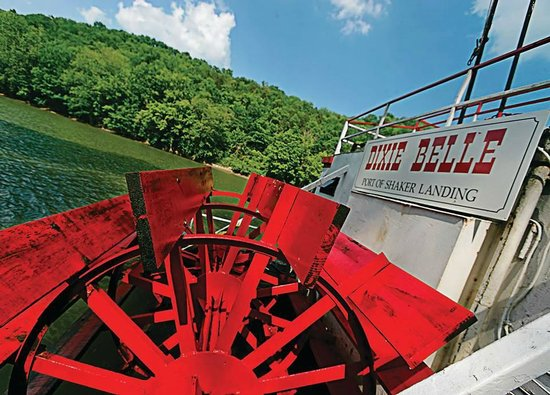 Harrodsburg, KY: Dixie Belle Riverboat Shaker Village of Pleasant Hill