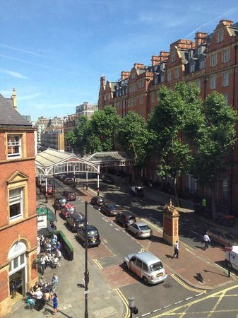 Travelodge London Central Marylebone: View from our room.