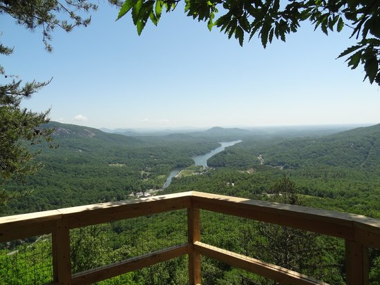 Chimney Rock State Park: gorgeous view