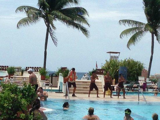 The Royal Playa del Carmen: Sports & Entertainment (Great Dancers)