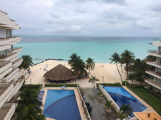 Ixchel Beach Hotel: View from room 2601 patio