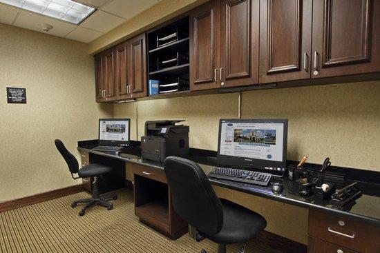 Hampton Inn & Suites Alexandria : Busineess Center