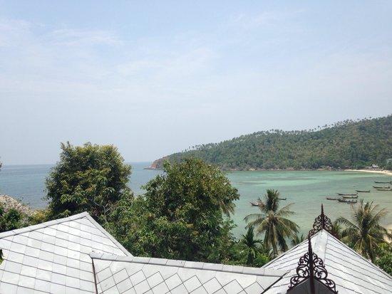 Salad Buri Resort & Spa : View from pool villa