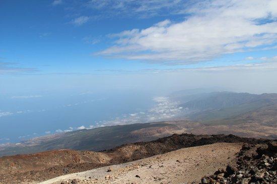 Volcan El Teide : Vista desde El Teide