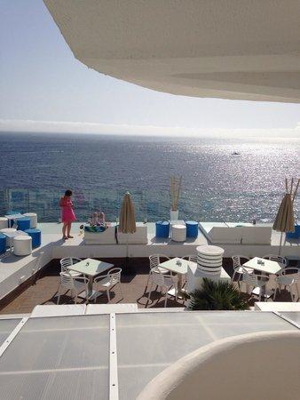 SENTIDO Punta del Mar: View from blue bar
