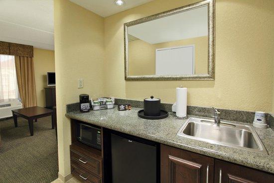 Hampton Inn & Suites Alexandria: Suite Wet Bar