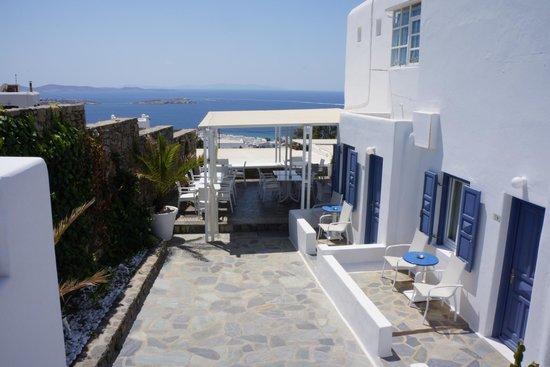Damianos Hotel: vue
