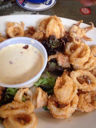 Sesame Burgers & Beer: Calamari