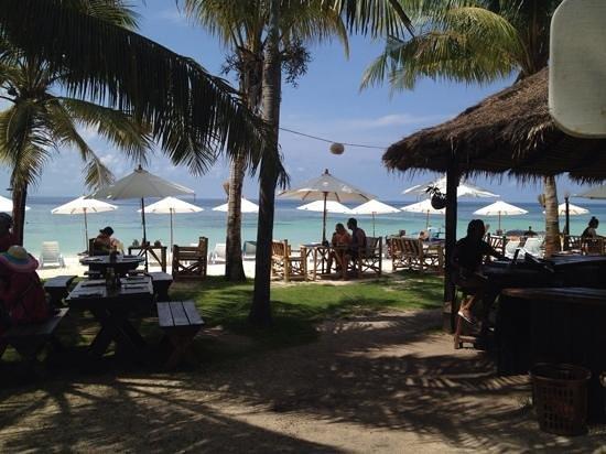 Mali Resort Pattaya Beach Koh Lipe: Sicht von der Bar des Mali