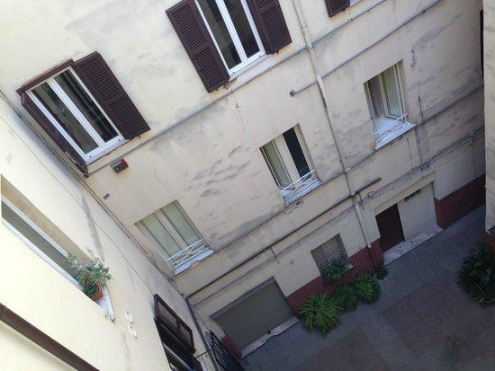 B&B A Casa Di Al & Ga: Вид из окна