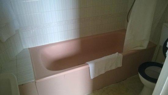 Carlton Hotel: Pink bath in R3