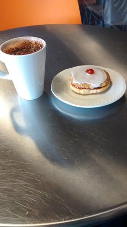 Summerlee - Museum of Scottish Industrial Life: H Choc n empire biscuit @ £3.50