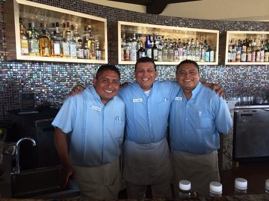 Moon Palace Golf Course: Our new tres amigos!
