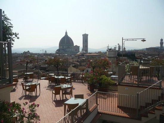 Grand Hotel Baglioni Firenze : Vista do Duomo