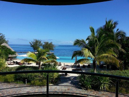 Manava Suite Resort Tahiti: vista stanza