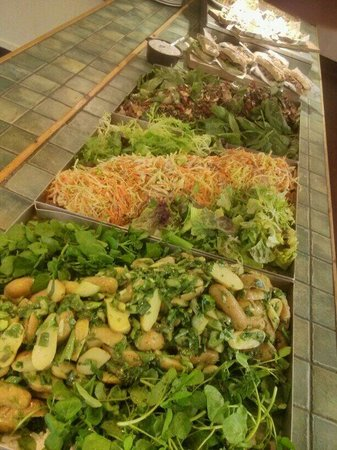 Heligan Kitchen & Bakery: home grown salads