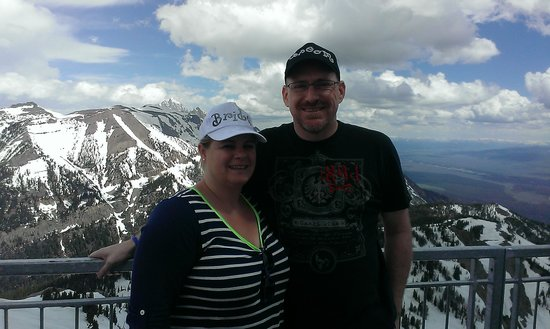 Jackson Hole Aerial Tram : view at summit