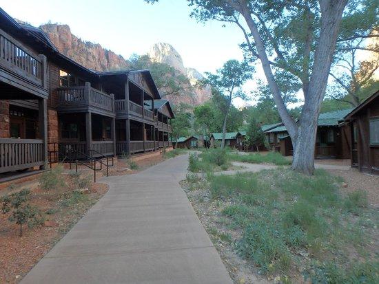 Zion Lodge: Lodging