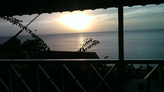 Ti Kaye Resort & Spa: Sunset from room deck