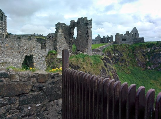 Dunluce Castle: From one end