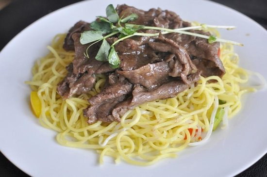 Just Delicious Bistro: Beef Teriyaki with Noodle