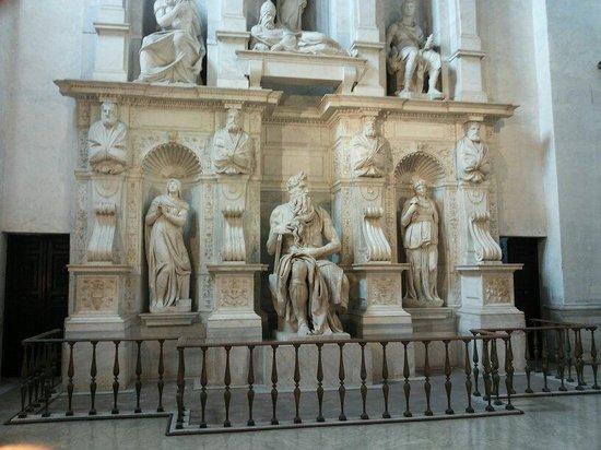 San Pedro Encadenado (San Pietro in Vincoli): Magnifico!