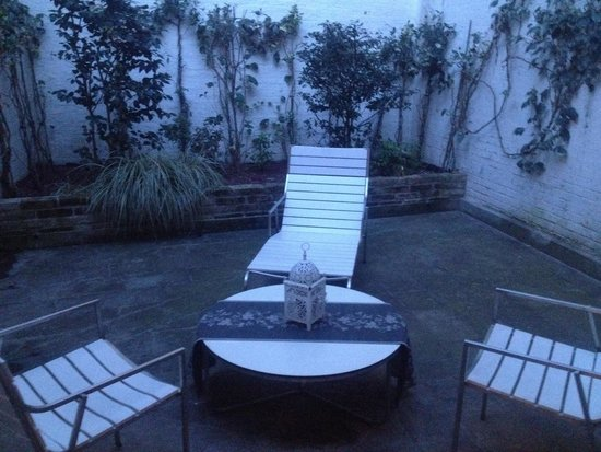 Al Canal Regio: 21's terrace (overlooked from above, but LOVELY)