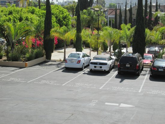 Hollywood Hotel: Hotel Parking