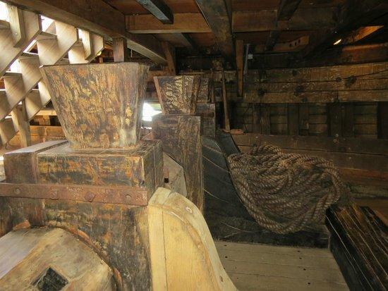 Mayflower II: Below deck