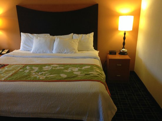 Fairfield Inn & Suites Birmingham Pelham/I-65 : Bed