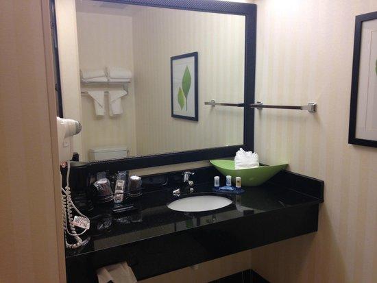 Fairfield Inn & Suites Birmingham Pelham/I-65: Bathroom