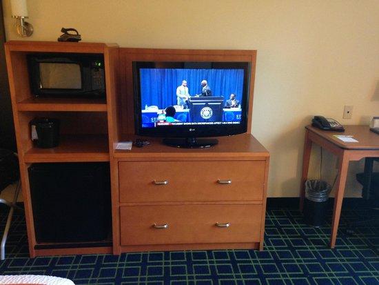 Fairfield Inn & Suites Birmingham Pelham/I-65: TV