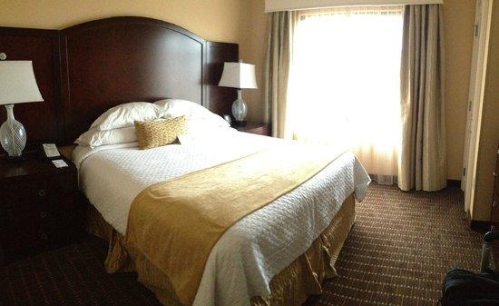 Embassy Suites by Hilton Orlando Lake Buena Vista South: Comfy bed