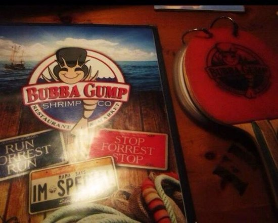 Bubba Gump Shrimp Co. : Menus