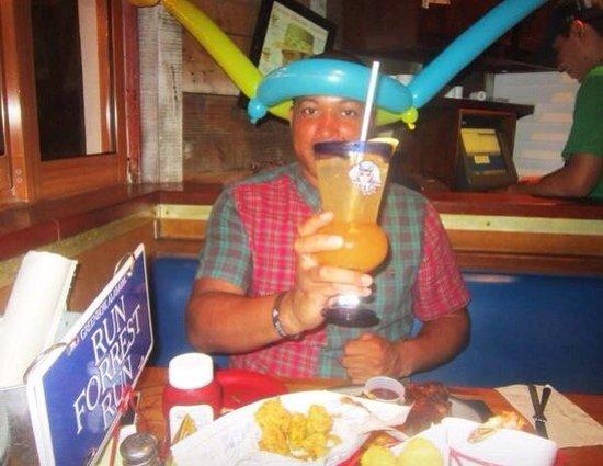 Bubba Gump Shrimp Co.: Balloon gift