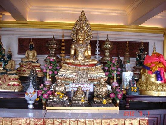 The Golden Mount (Wat Saket): inside temple
