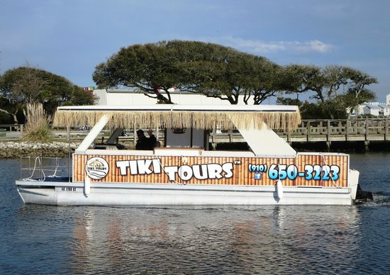 Tiki Tours: The TIKI TIME Pontoon Boat
