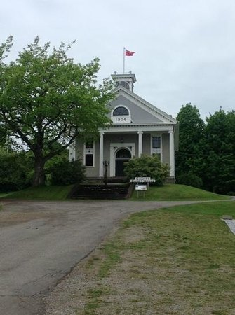 Albert County Museum: court house